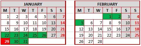 Calendario-intensivo