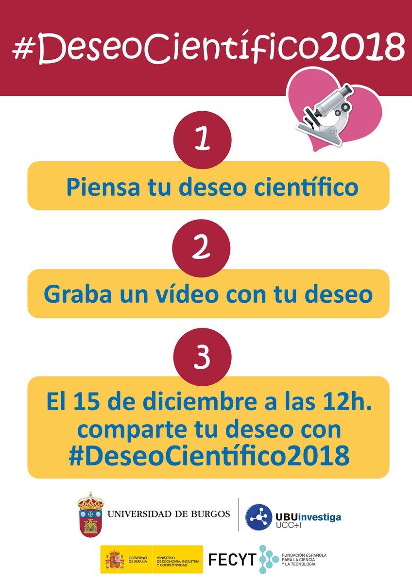 #DeseoCientífico2018