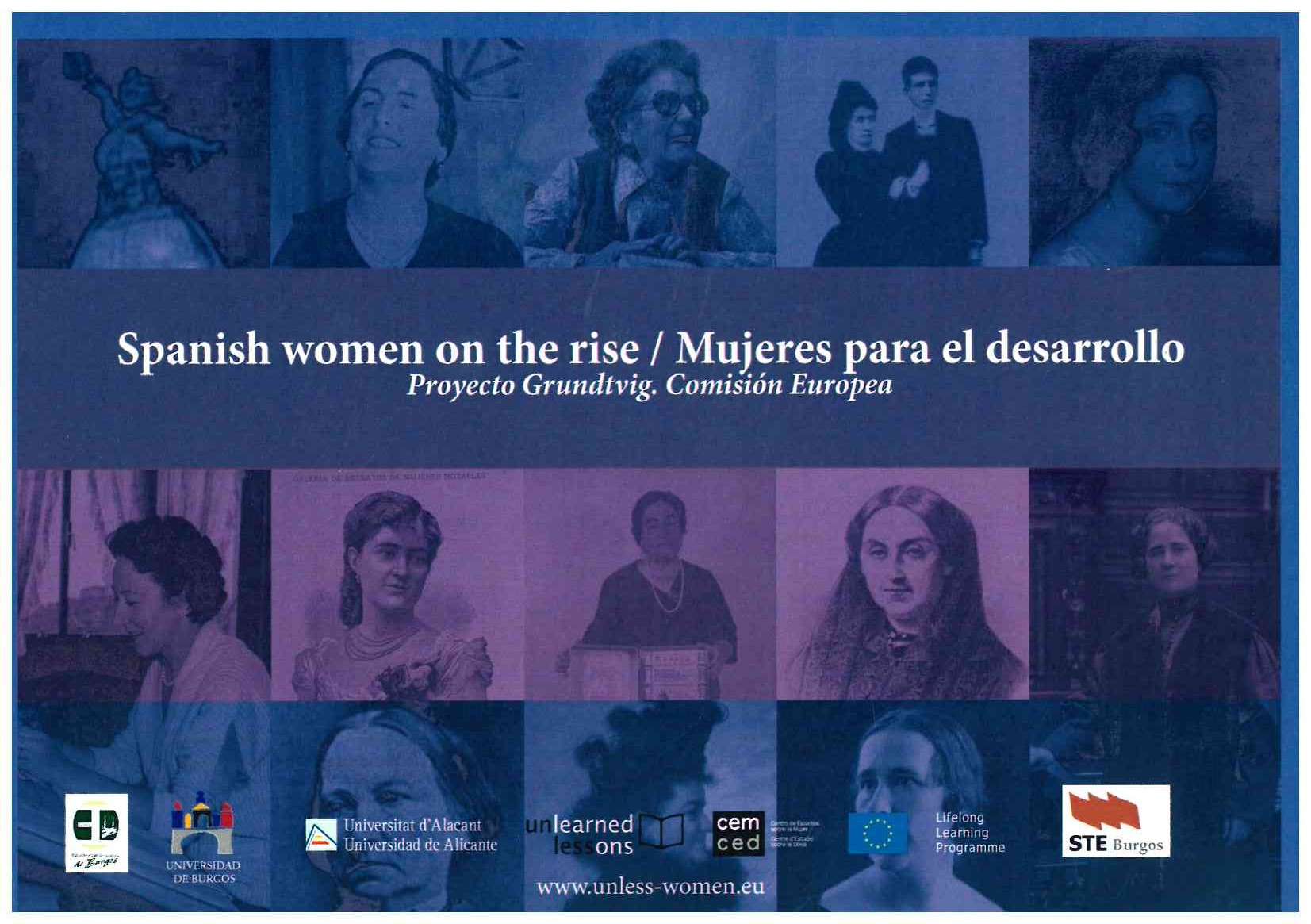exposición Spanish women on the rise