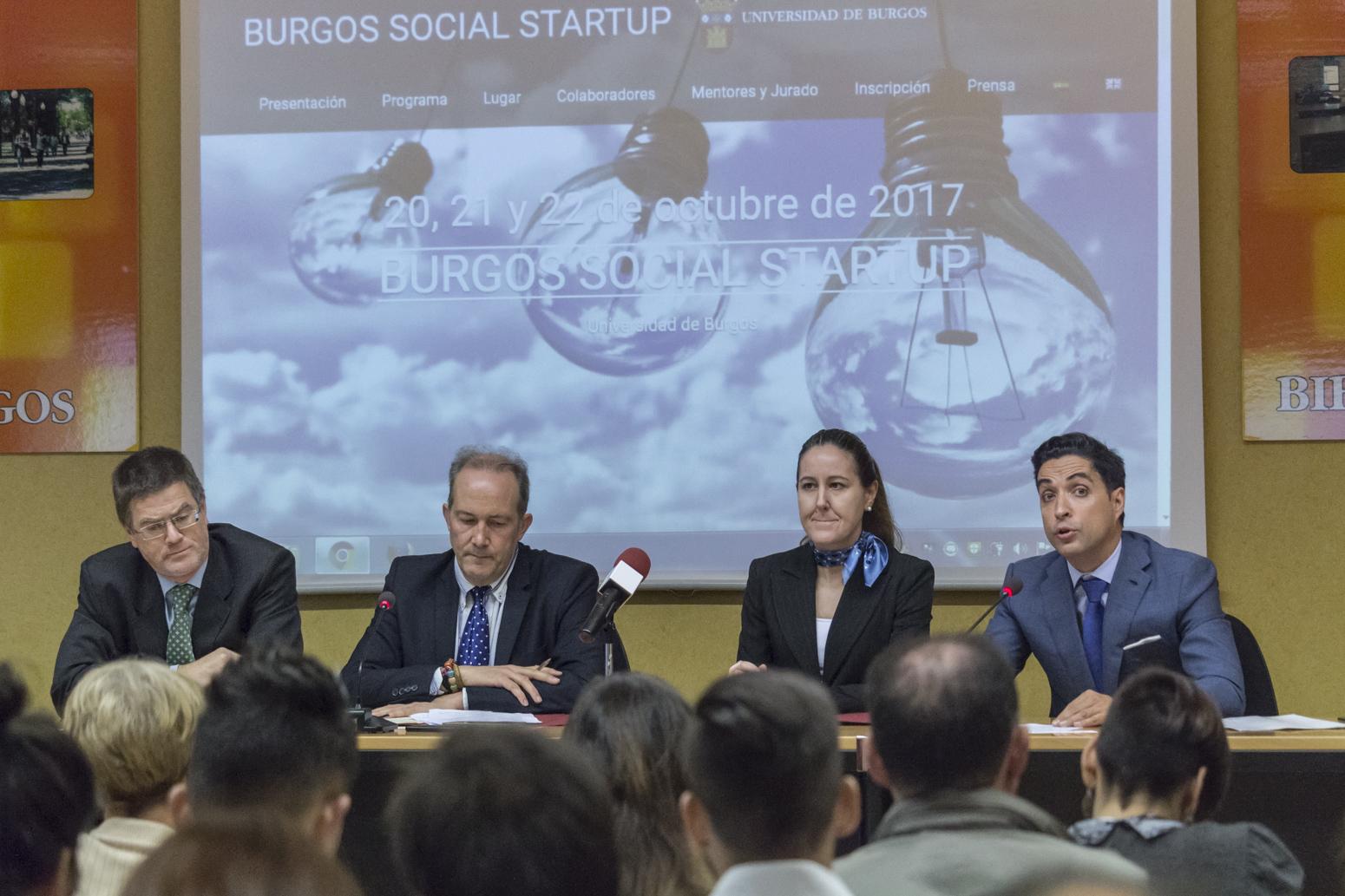 La ubu apuesta por el emprendimiento social universidad for Oficina de empleo burgos