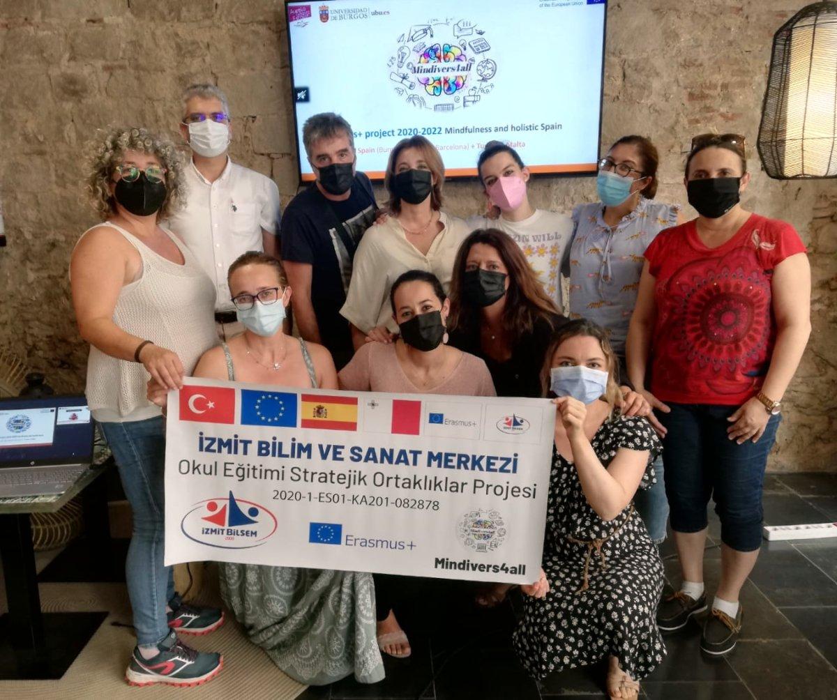 Foto Reunión transnacional del proyecto europeo MINDIVERS4ALL en Barcelona