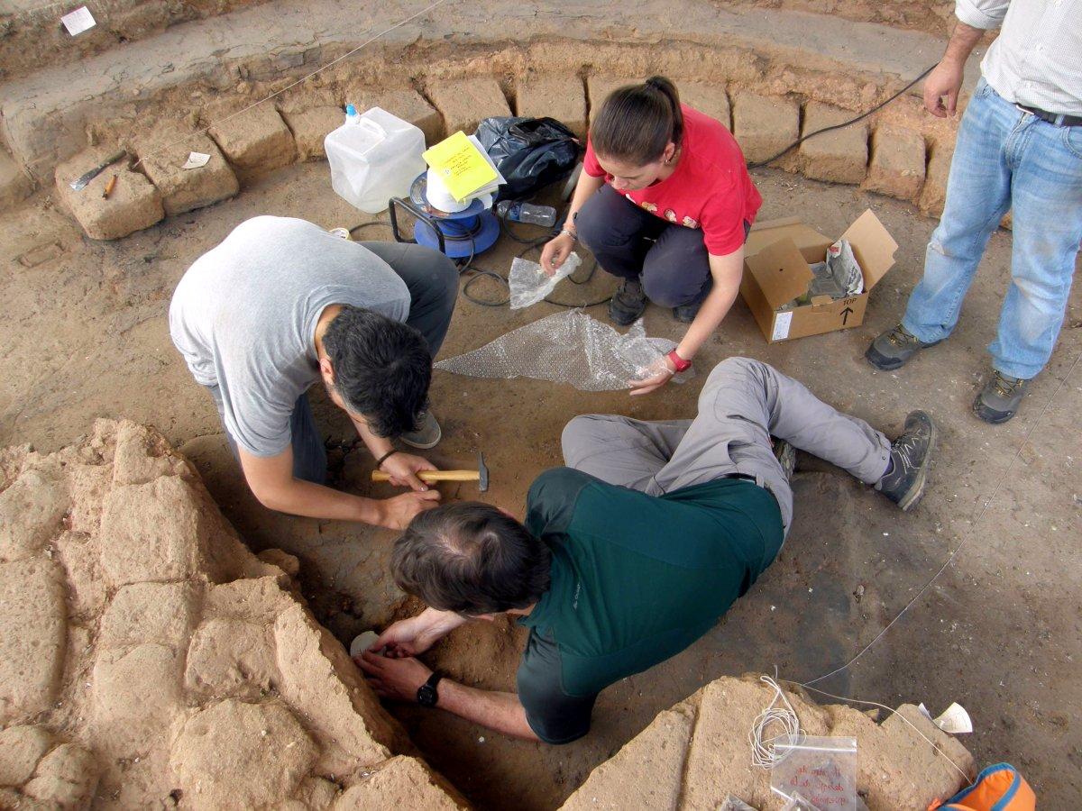 Foto Datan con gran precisión, mediante arqueomagnetismo, un yacimiento de la Edad del Hierro en Salamanca