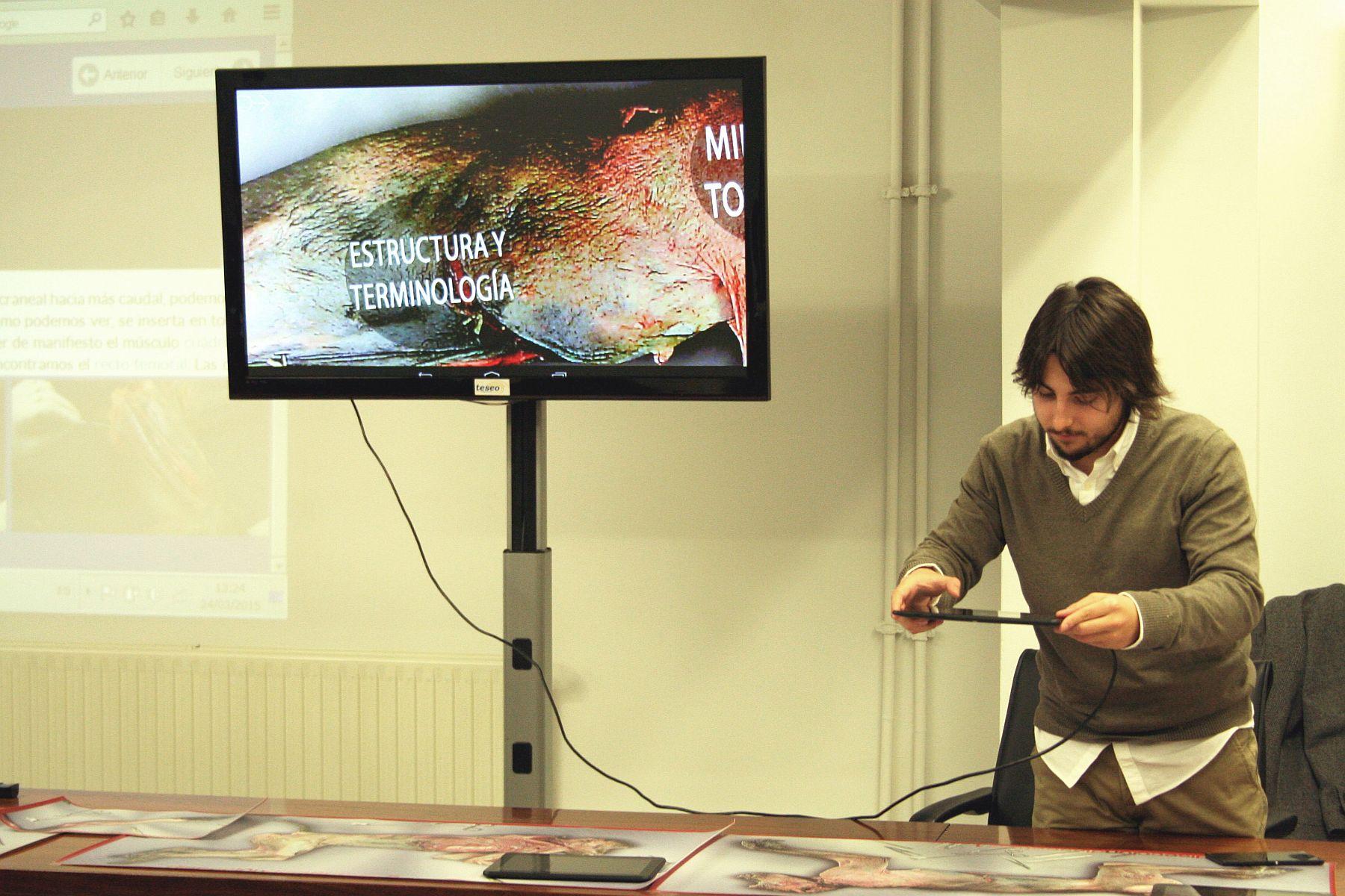 Presentada el Aula Virtual de Disección de Primates | Universidad de ...
