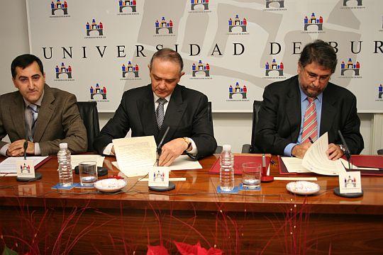 Convenio de colaboración científica y académica con el Sacyl.