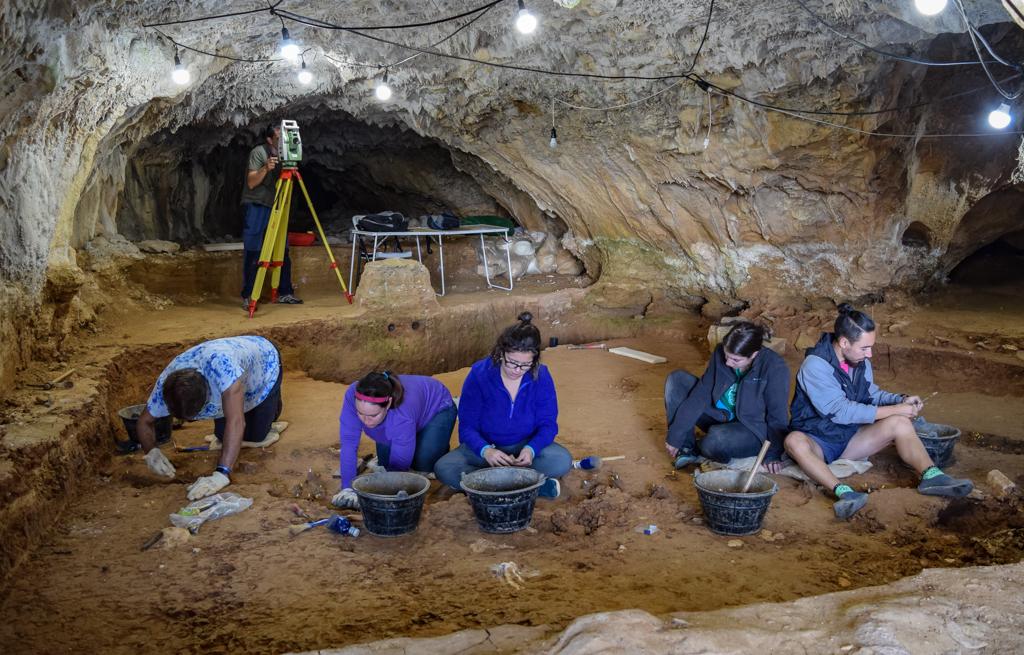 Excavación en Prado Vargas 2019. Foto: UBU
