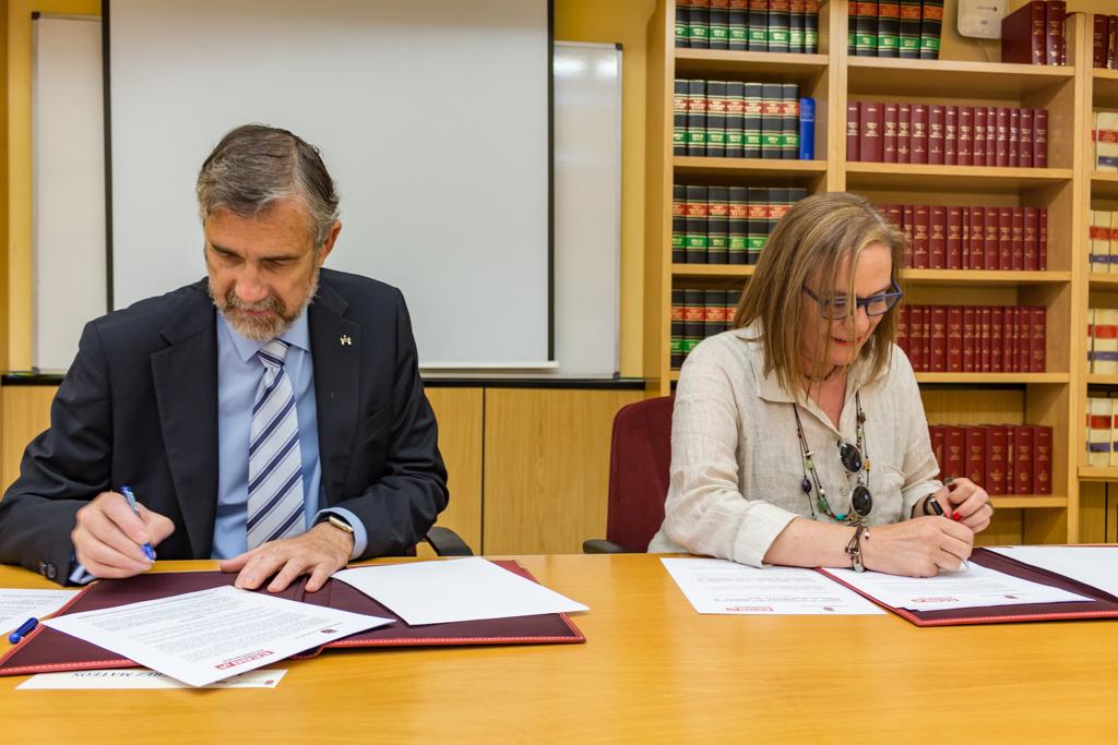 CCOO firma un convenio de colaboración con la UBU - Feccoocyl