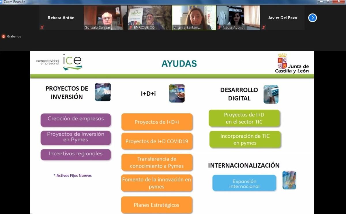 Foto Investigadores de la UBU presentaron soluciones innovadoras a las empresas del Clúster AEICE