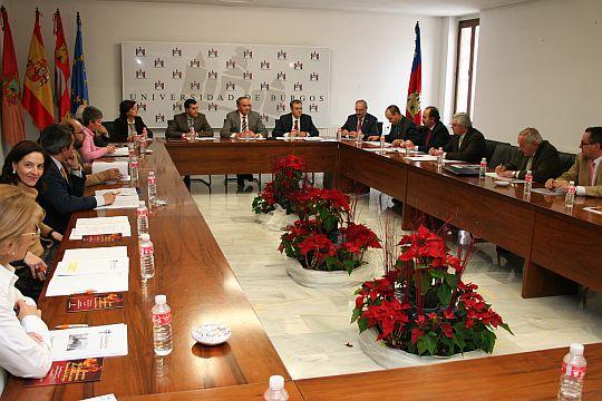 Reunión del Patronato de la Fundación General de la Universidad de Burgos