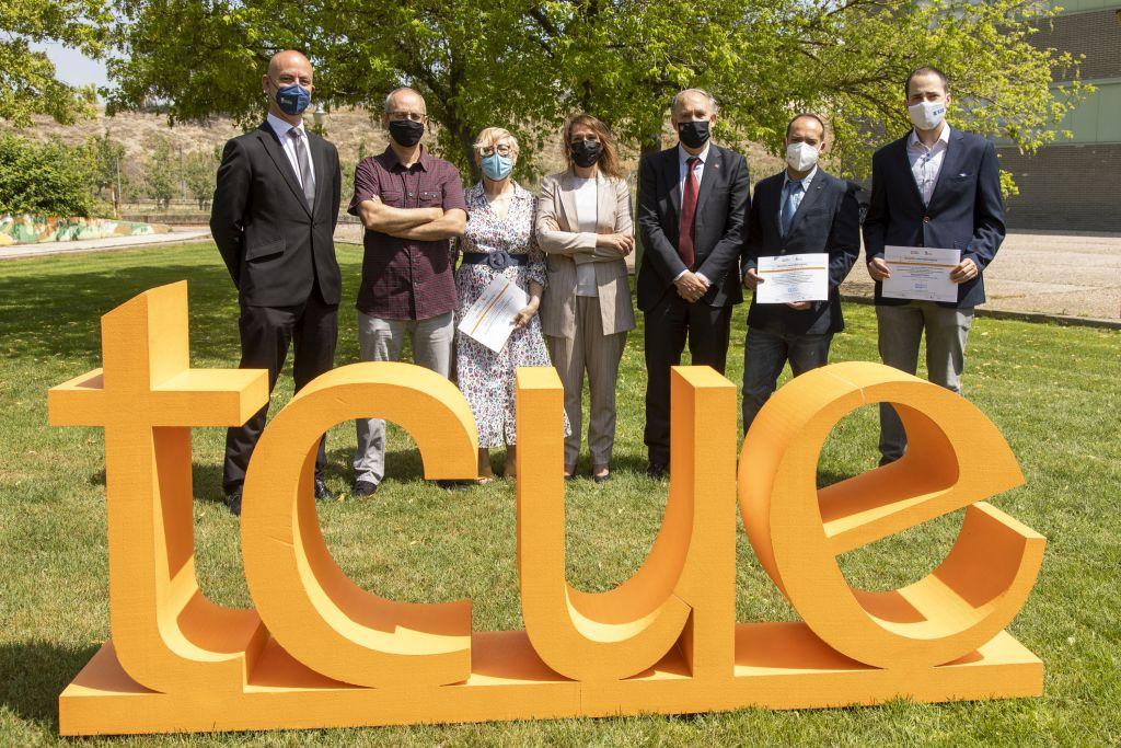 Foto Tres proyectos de la UBU premiados por TCUE