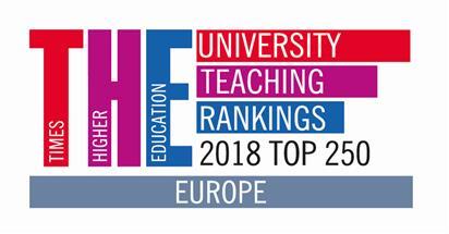The university teaching rankings 2018- Top 250