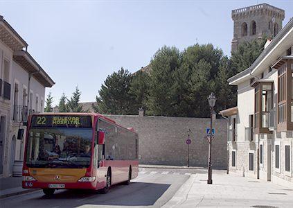 Autobuses urbanos. Servicio público