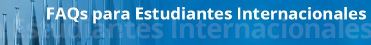 FAQs de estudiantes internacionales