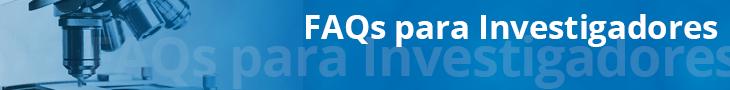 FAQs de investigadores