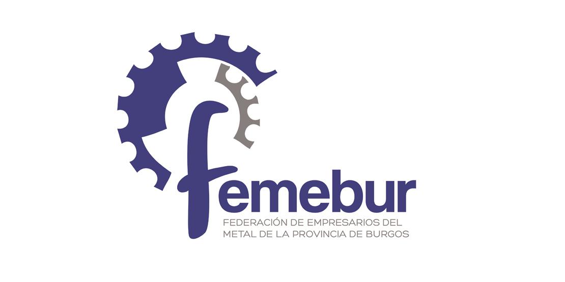 Logo de la federación de empresarios del metal de la provincia de Burgos