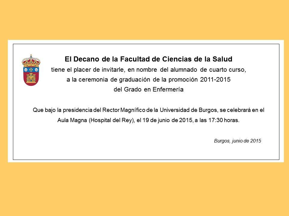 Destacados Del Grado En Enfermería Universidad De Burgos