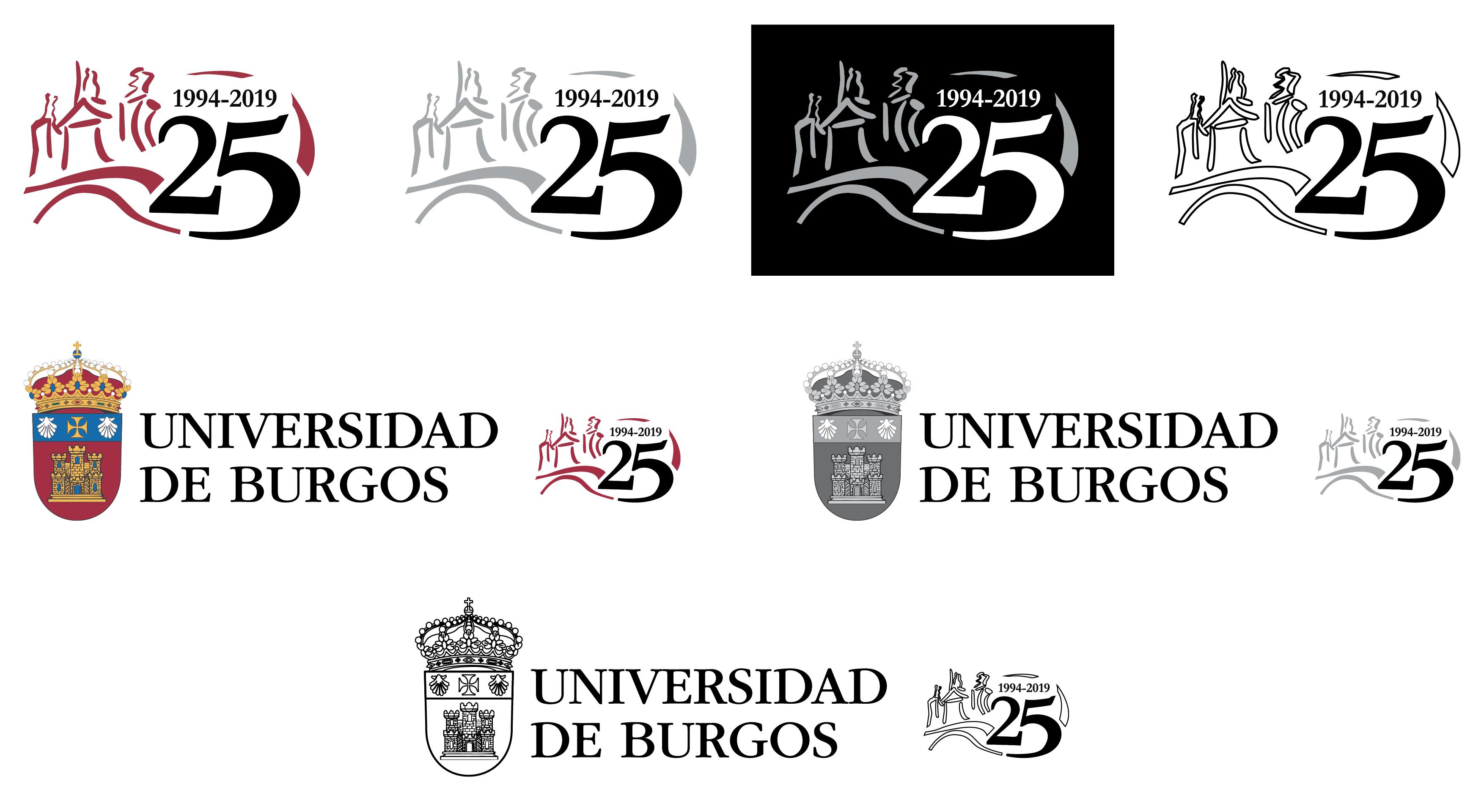 A continación se pone a disposición de la Comunidad Universitaria las principales versiones y formatos de archivo del logotipo del 25 aniversario.