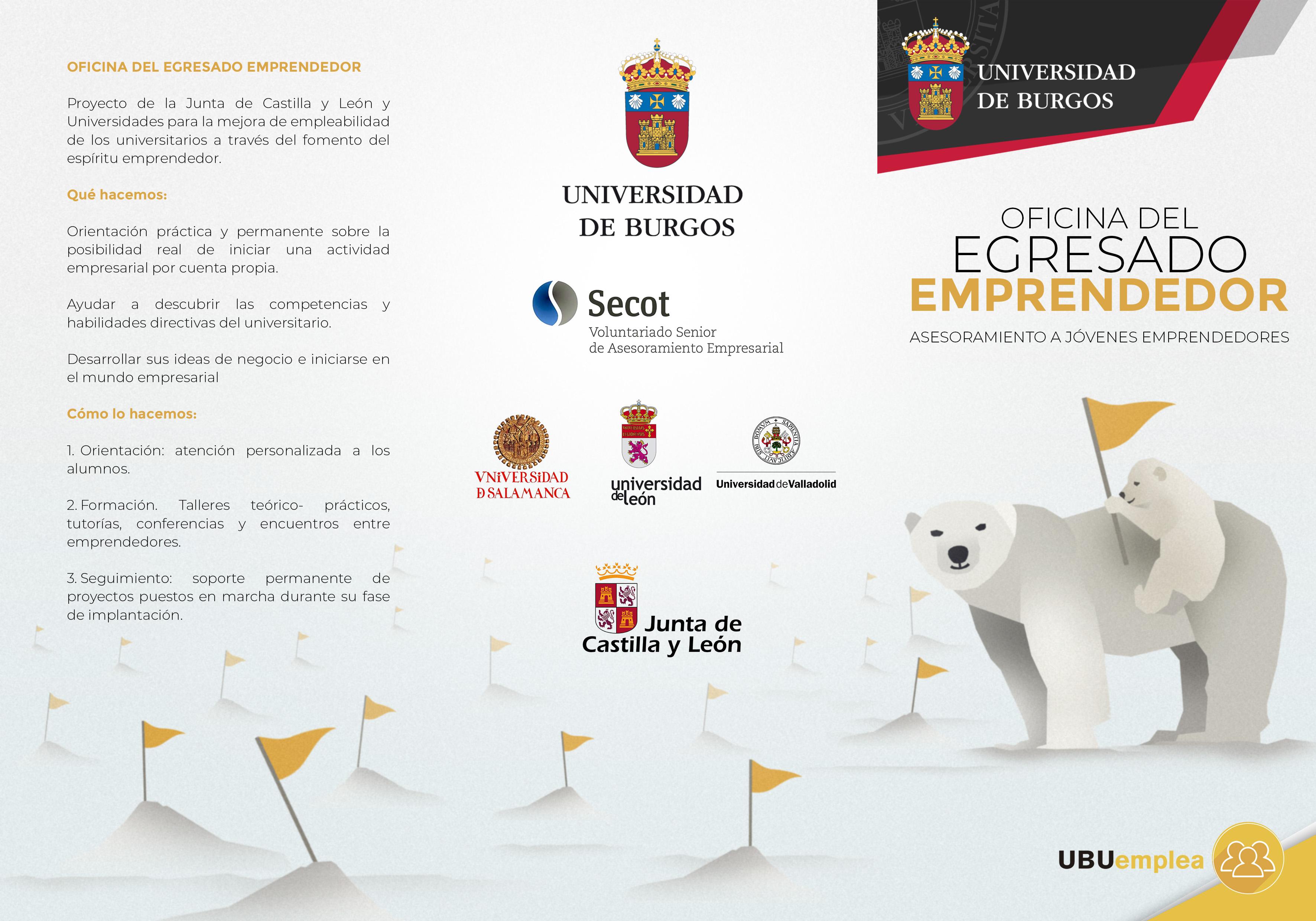 Oficina del Egresado Emprendedor   Universidad de Burgos