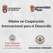 Máster interuniversitario en cooperación internacional.
