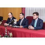 Rueda de prensa para la presentación de los actos conmemorativos del  la Constitución Española