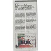 Firma de acuerdo de colaboración entre MC MUTUAL y EURRLL