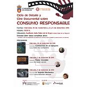 Cartel Ciclo de Cine sobre Consumo Responsable