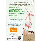 """Curso online """"Abastecimiento de energía en zonas rurales"""""""