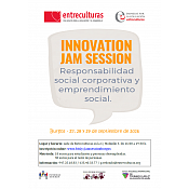 Cartel Curso Innovation Jam Session