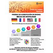 Cartel Prueba de Acreditación Erasmus Plus - UBU Global
