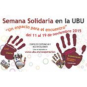 XI Semana Solidaria en la UBU