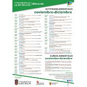 Cartel UBUverde Noviembre y Diciembre