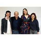 Pilar Alonso Abad, Jordi Rovira, Deborah García e Isabel Soto