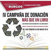 """IV Campaña de donación """"Más que un libro"""""""