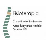Consulta de Fisioterapia Ana Bayona Antón