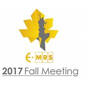 EMRS Fall Meeting 2017
