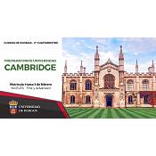 Cursos Preparación Cambridge 2º Cuatrimestre