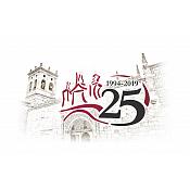Destacado isologotipo del 25 aniversario Universidad de Burgos