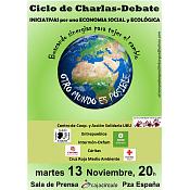 """Cartel Segunda Sesión """"Otro Mundo es Posible"""""""