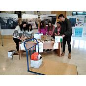 """Recogida de las mesas de la Campaña de Donación """"Más que un Libro"""""""