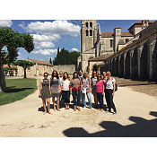 Visitando el monasterio de las Huelgas
