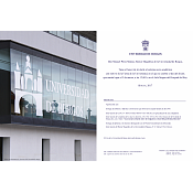 Invitación- imagen del edificio de administración y servicios de la Universidad de Burgos