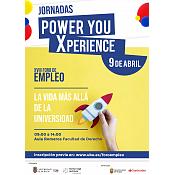 Jornadas Power You Xperience |  XVIII Foro Empleo UBU