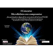 Cartel I Concurso de MicroRelatos con Compromiso