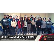 Felicitación Navidad Centro de Lenguas
