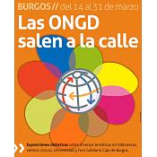 Cartel Las ONGD Salen a la Calle