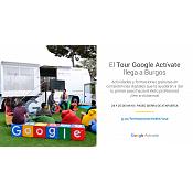Tour Autobús Google Actívate Burgos