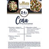 Cena para 2 La Mafia Burgos