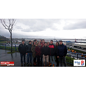 Alumnos de la EPS vistan el Puerto de Bilbao