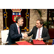 Firma Convenio UBU - Aveiro