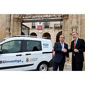 AUTOCID cede un vehículo a la Unidad de Cultura Científica e Innovación