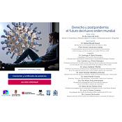 Webinar Internacional. Derecho y Postpandemia: el futuro en el nuevo orden mundial